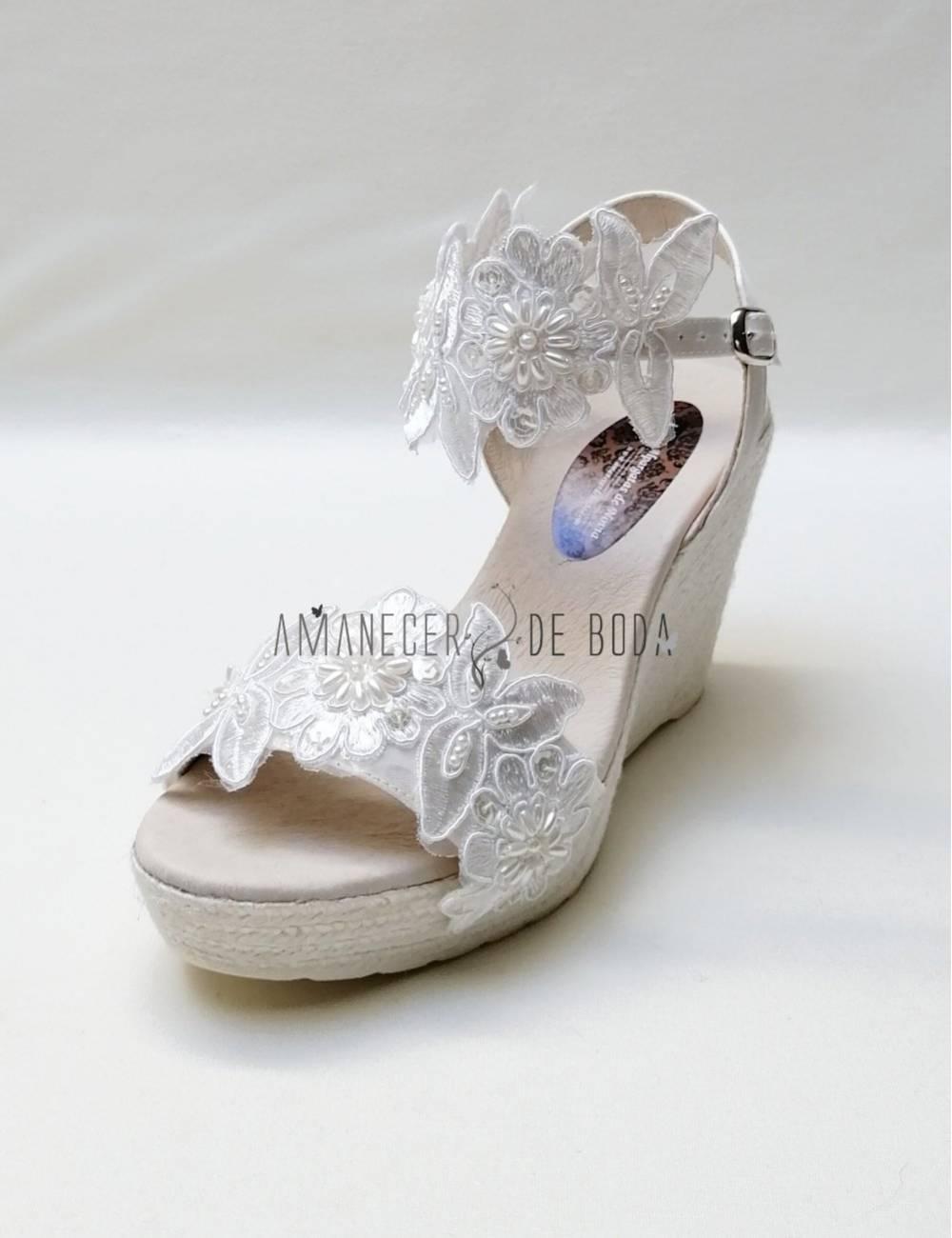 Bridal espadrilles