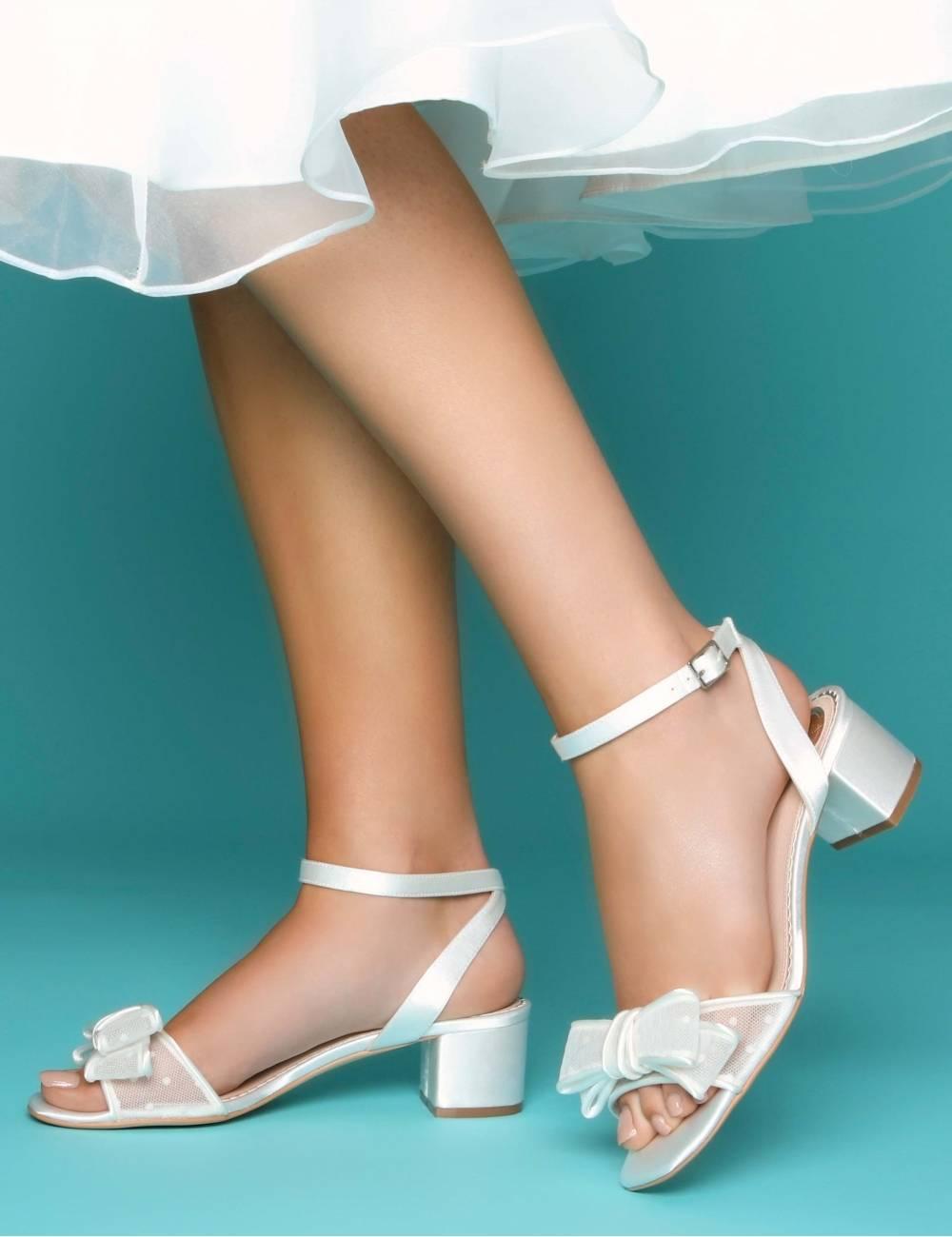 Zapatos novia bajos y comodos