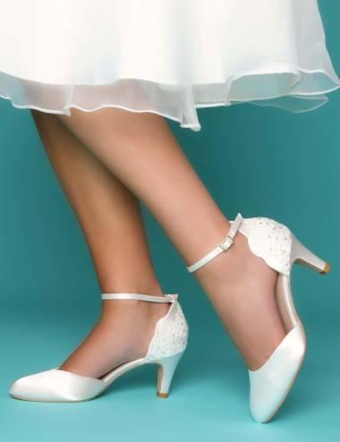 Zapatos Novia Poco Tacón