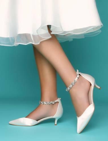 Zapatos de novia comodos y elegantes