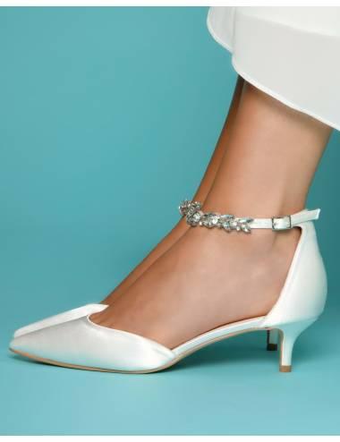 Zapatos Novia Bajos Eliza