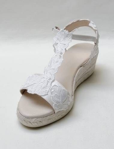 Bridal Wedges Lesly