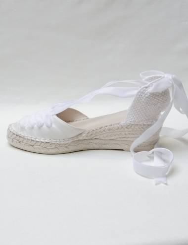 Bridal espadrilles Louise
