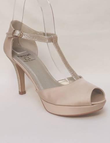 Zapatos Fiesta Dorados Comodos